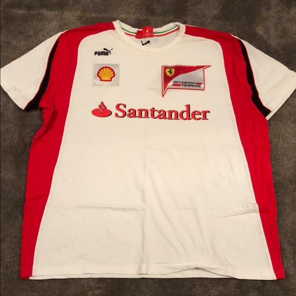puma the sleeve shop shirt long euro motorsport ferrari t